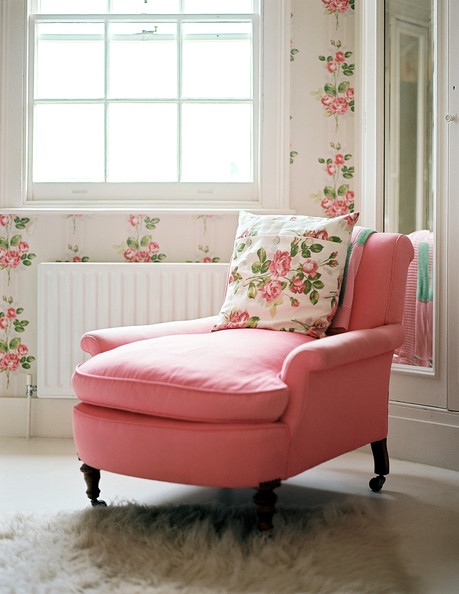 Pink Armchair Photos (1 Of 1)