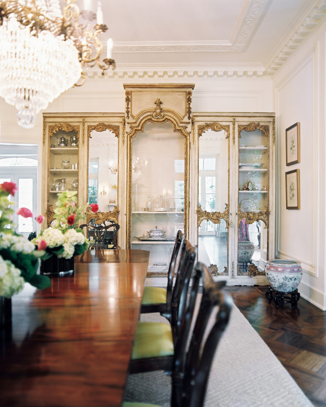 French Dining Room Photos (37 Of 44