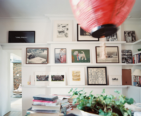 Wall Arrangement With Shelves Photos (1 of 1) []