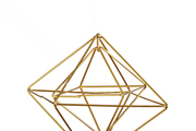 Geometric open spaces captured in an ornament