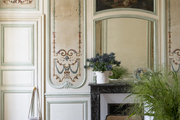 An ornate Parisian apartment.