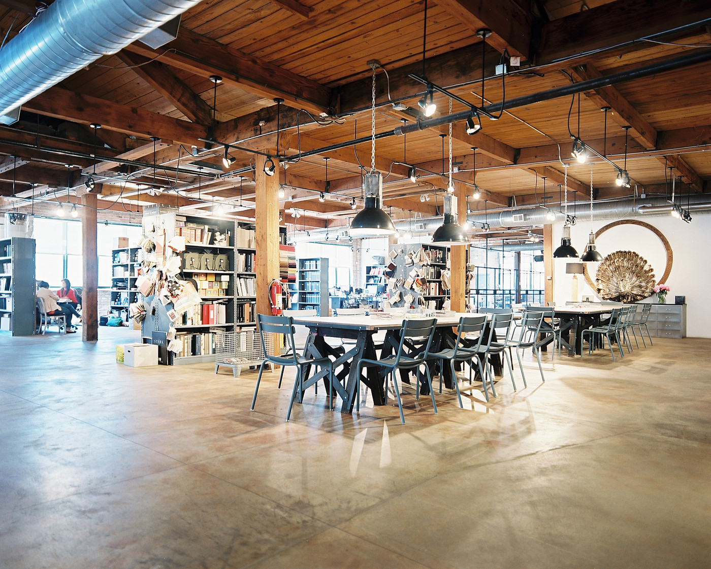 Urban retail store design photos 17 of 19 for Industrial office design