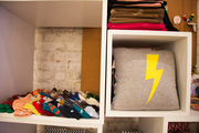 Lightning bolt pillows and other accessories for sale at Thomas Sires