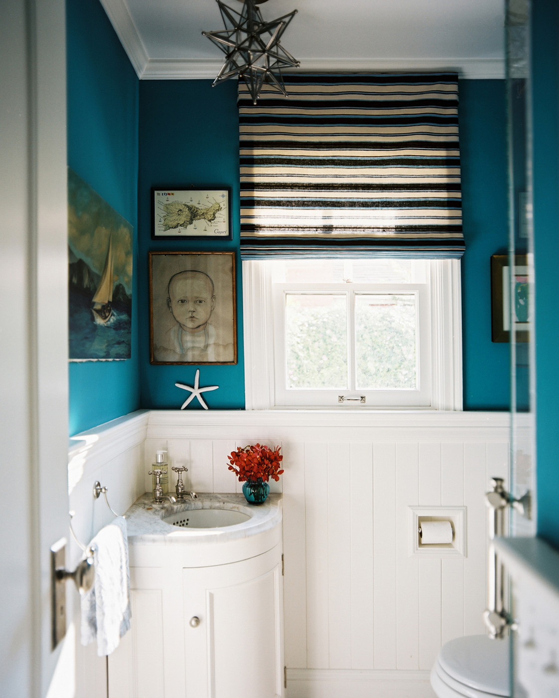 Teal Bathroom Walls