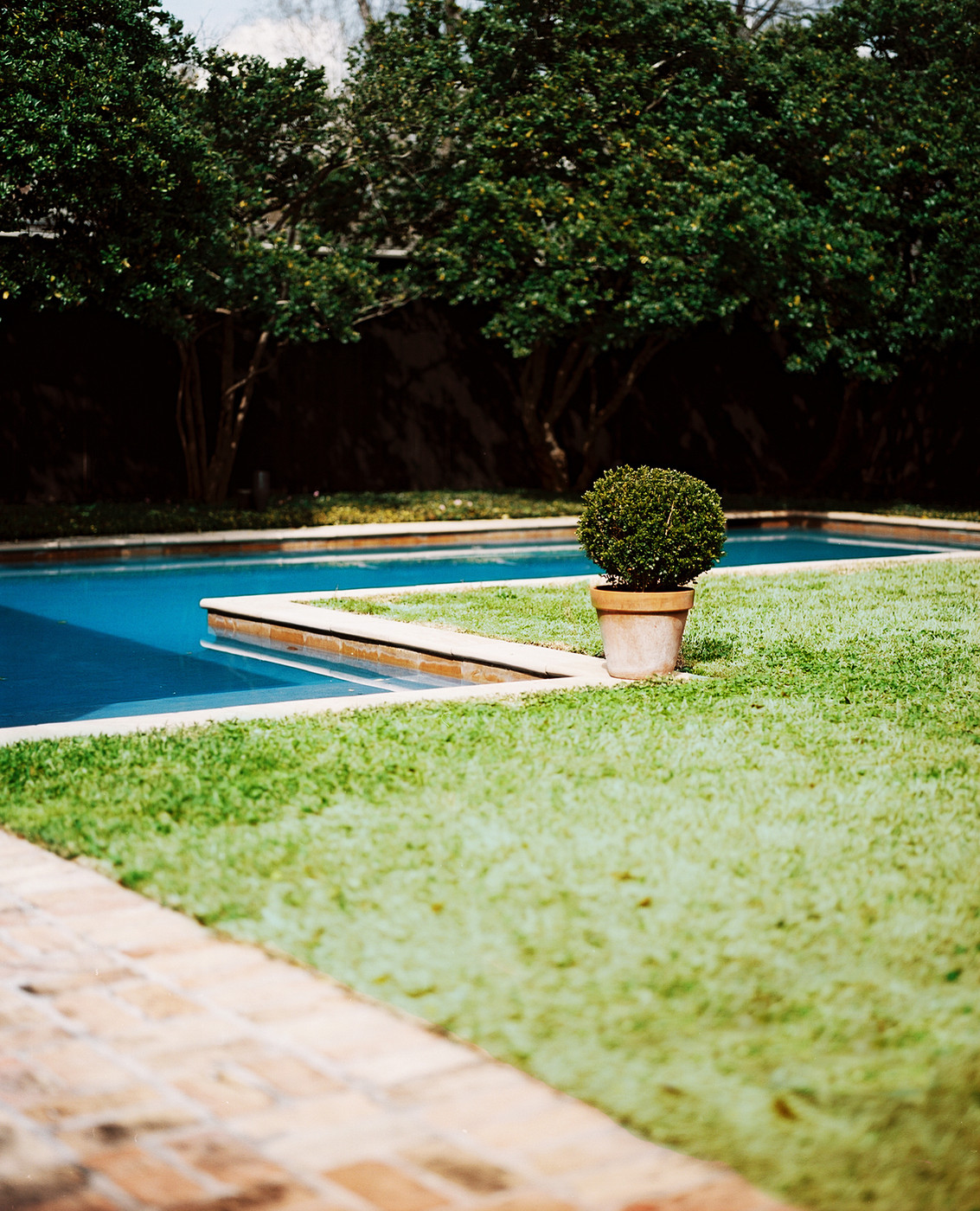 L Shaped Pool Photos Design Ideas Remodel And Decor