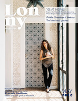 The Lonny team visits Morocco.  The issue also includes exclusive home shoots from Charlottesville, Raleigh, and Brooklyn.