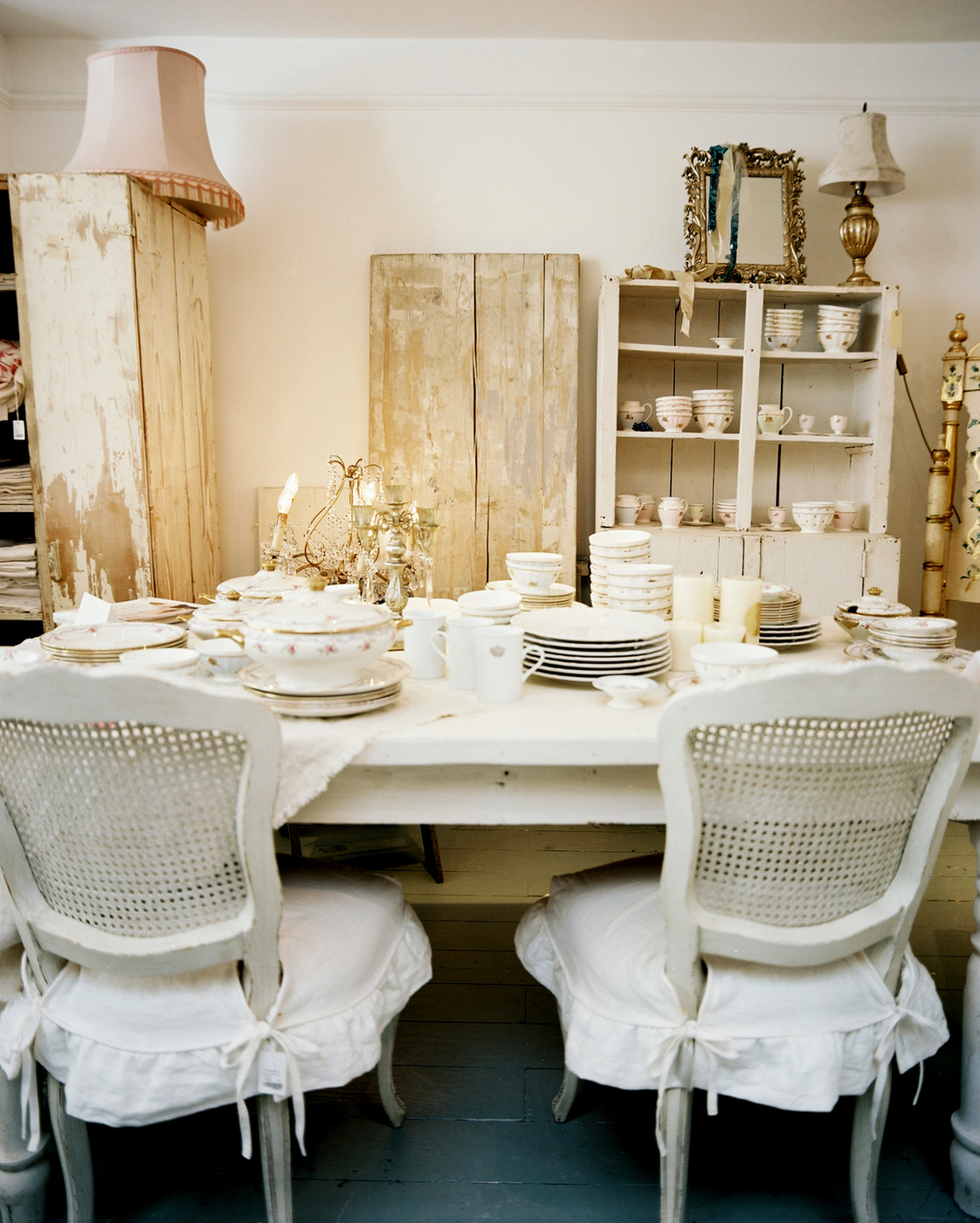 Shabby chic dining room photos 12 of 13 for Dining room photos