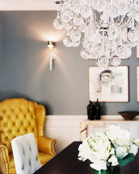 Grey And Yellow Walls: Chandelier Photos (158 Of 580)