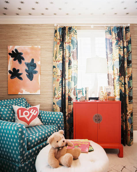 Colorful Curtains Photos, Design, Ideas, Remodel, and Decor - Lonny