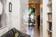 Contemporary Eclectic Midcentury Modern Hallway