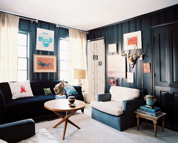 dark wall living room country living room black
