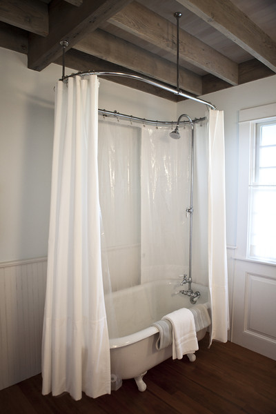 White Shower Curtains Photos (1 of 2) []