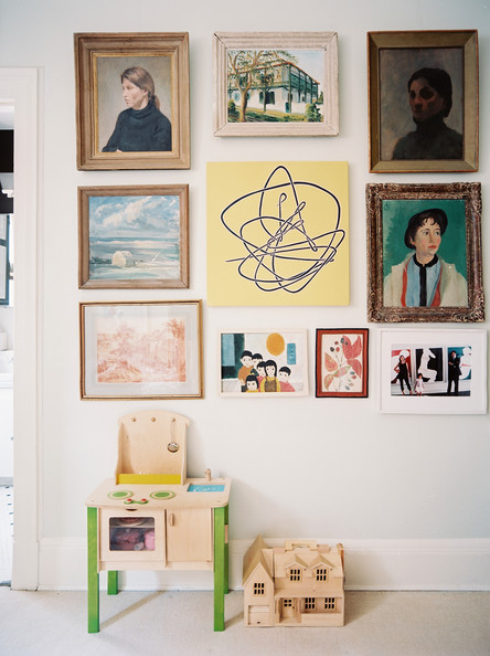 Eclectic kids 39 room photos 38 of 45 lonny - Eclectic picture frame wall ...