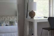 Subtle nautical influences in a serene bedroom