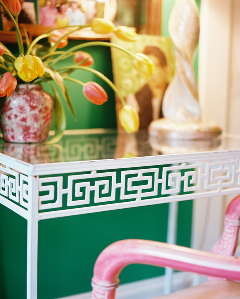Greek Key Table Photos Design Ideas Remodel And Decor