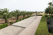 Outdoor recreation in a landscaped Mediterranean setting