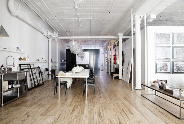 Industrial loft photos design ideas remodel and decor for Interieur loft new york