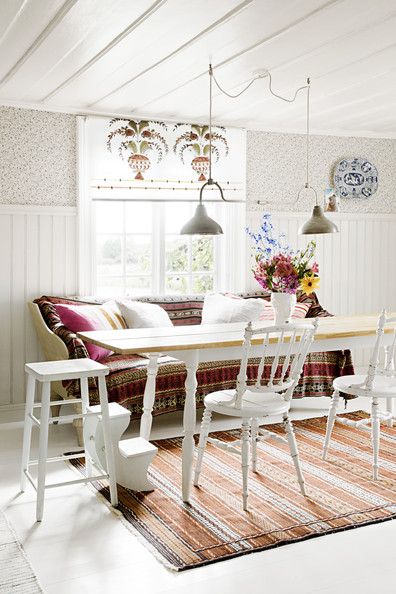 Charming Bohemian Dining Room Photos (53 Of 72)