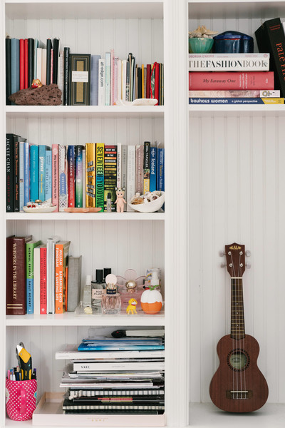 Eclectic Bookshelf Photos (1 of 69)