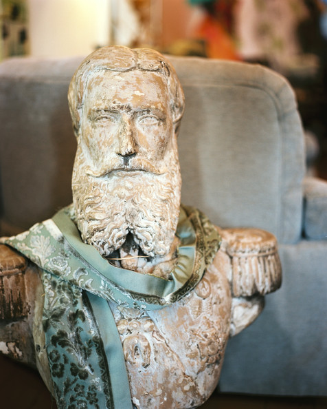 Decorating with Vintage Busts
