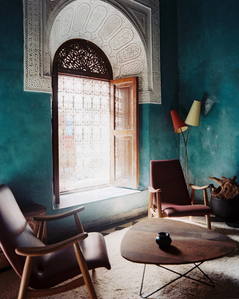 Blue green guest room details blue moroccan living room brown moroccan