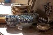 A collection of French and Japanese china