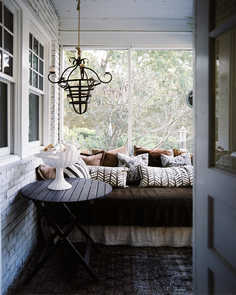 Porch Seating Photos Design Ideas Remodel And Decor