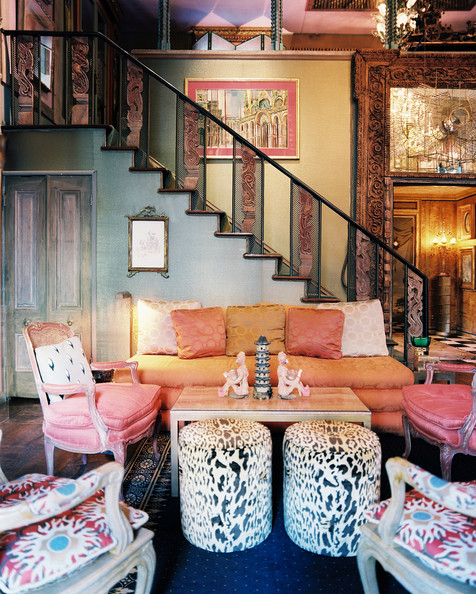 Staircase - An abundance of patterns in a living space