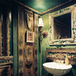 Moody Powder Room