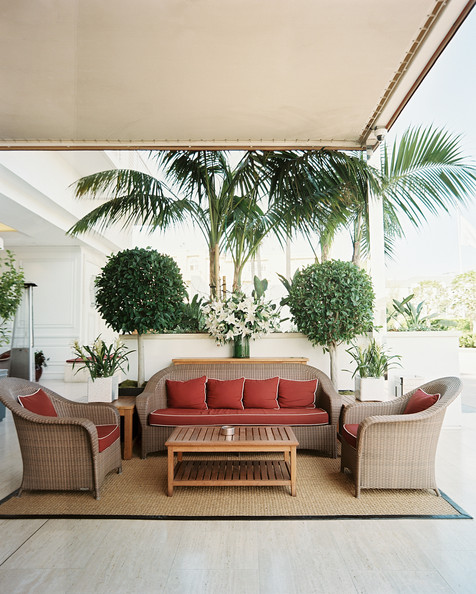 Tropical Patio Photos, Design, Ideas, Remodel, and Decor ... on Tropical Outdoor Living id=26679