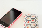 Floral and polka-dot iPhone cases