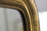 A luxe antique mirror