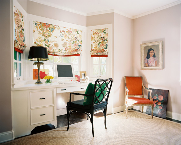 Bohemian Traditional Work Space