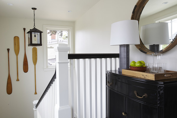 White And Black Staircase Photos (1 of 1)