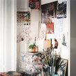 An Artist's Work Space