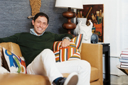 Jonathan Adler in his office