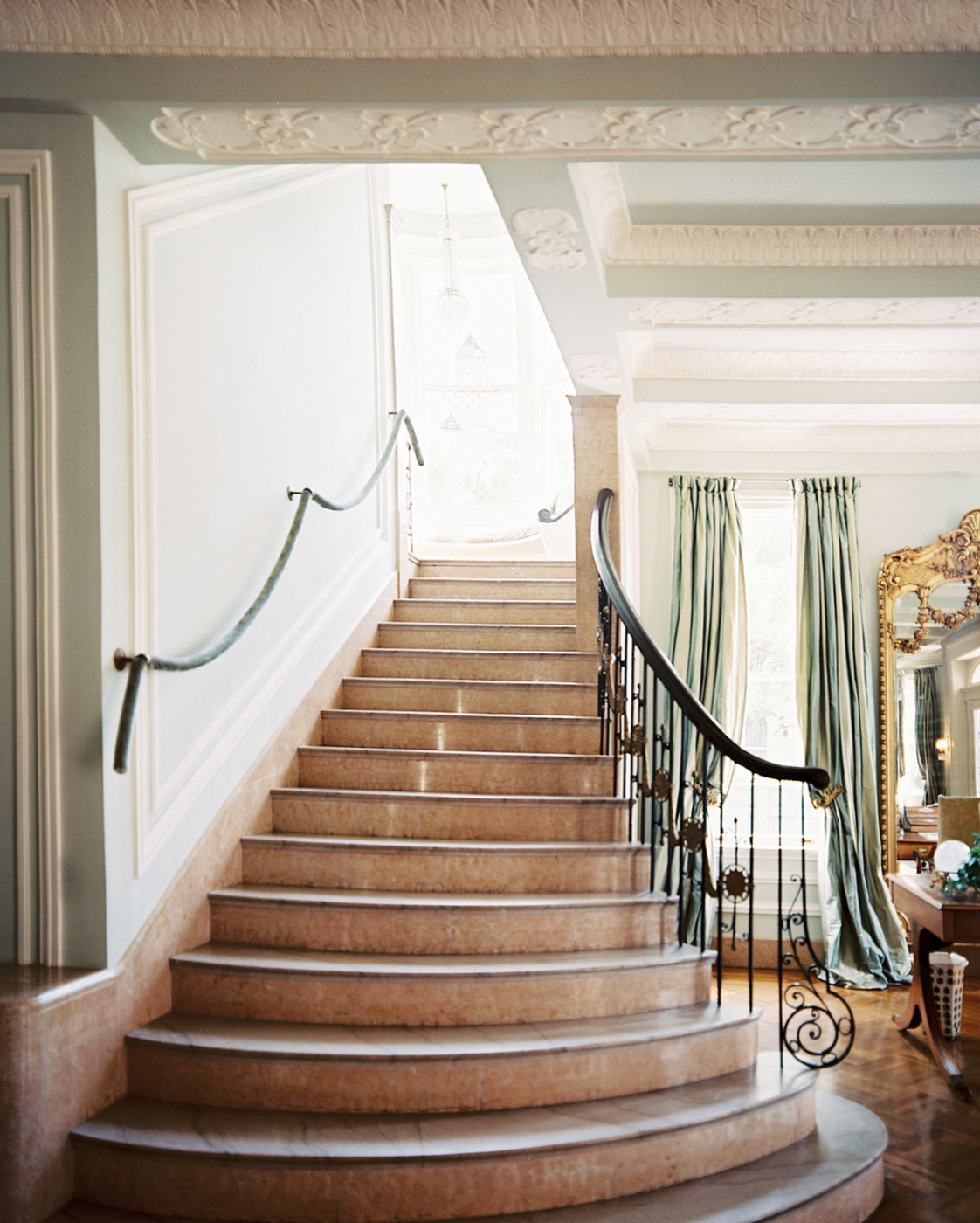 Marble Stairs Photos, Design, Ideas, Remodel, And Decor   Lonny