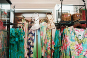 Lilly Pulitzer clothing and shoes on display in King of Prussia, Pennsylvania