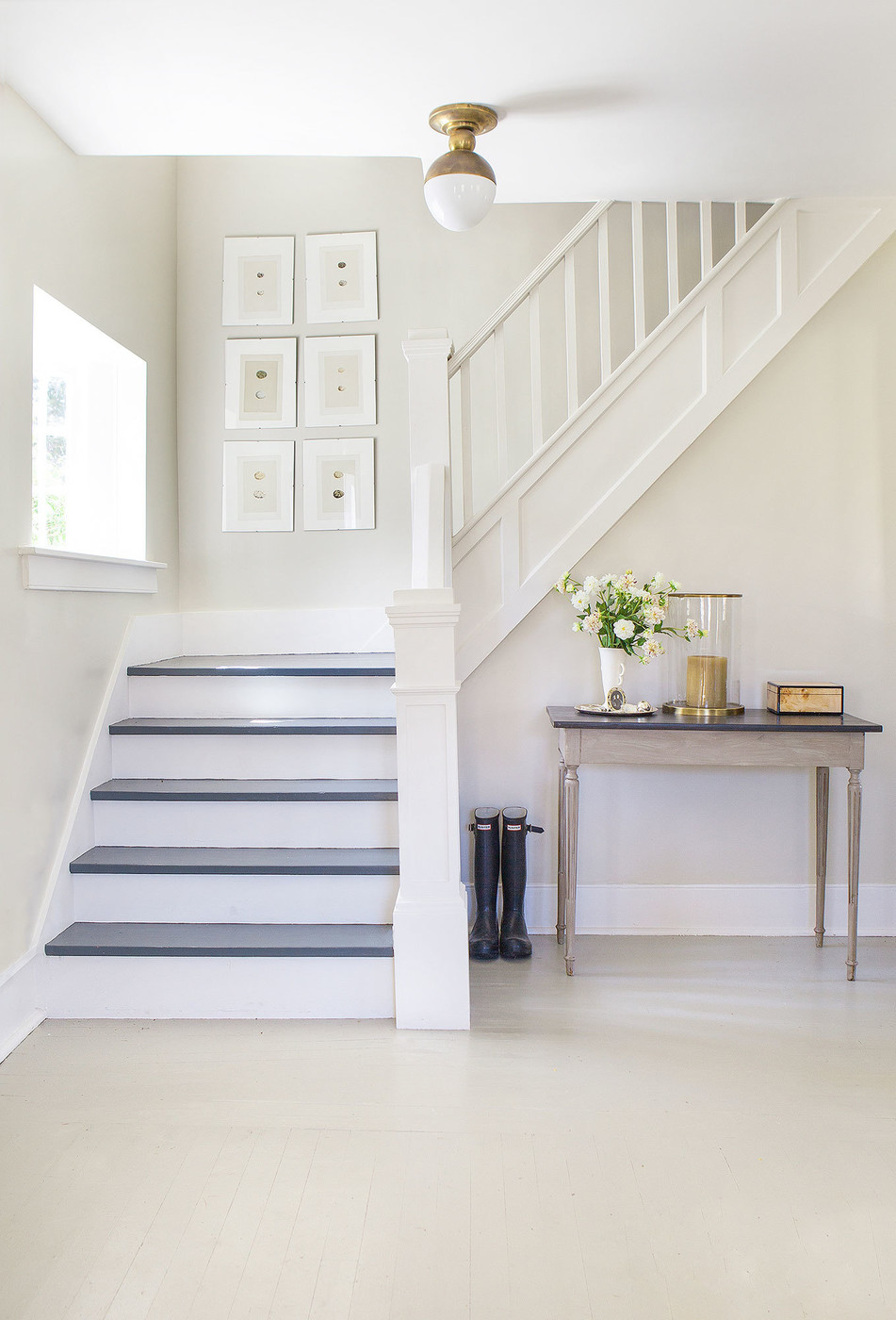 trim molding ideas for tall ceiling rooms - Minimalist Staircase s Design Ideas Remodel and
