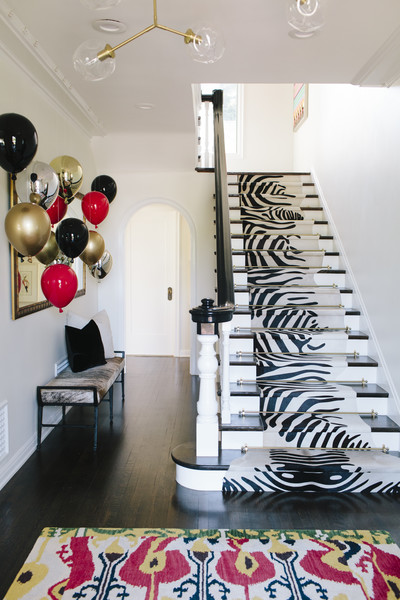 Eclectic Staircase Photos (1 of 18)