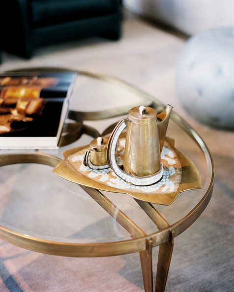 Gold And Glass Coffee Table Photos, Design, Ideas, Remodel