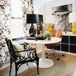 Eclectic Traditional Work Space