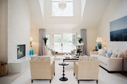 High ceilings in an open living space