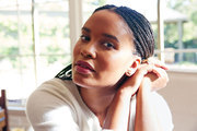 Actress Joy Bryant in her home outside Los Angeles