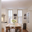 White Country Dining Room