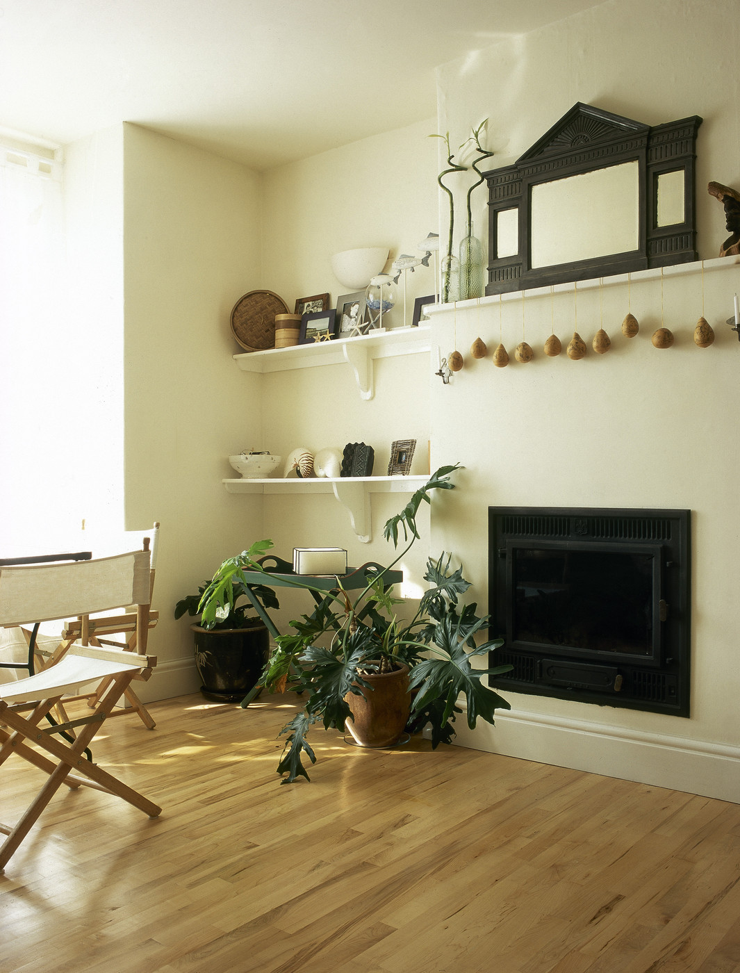 Bookcases Side Fireplace Styles
