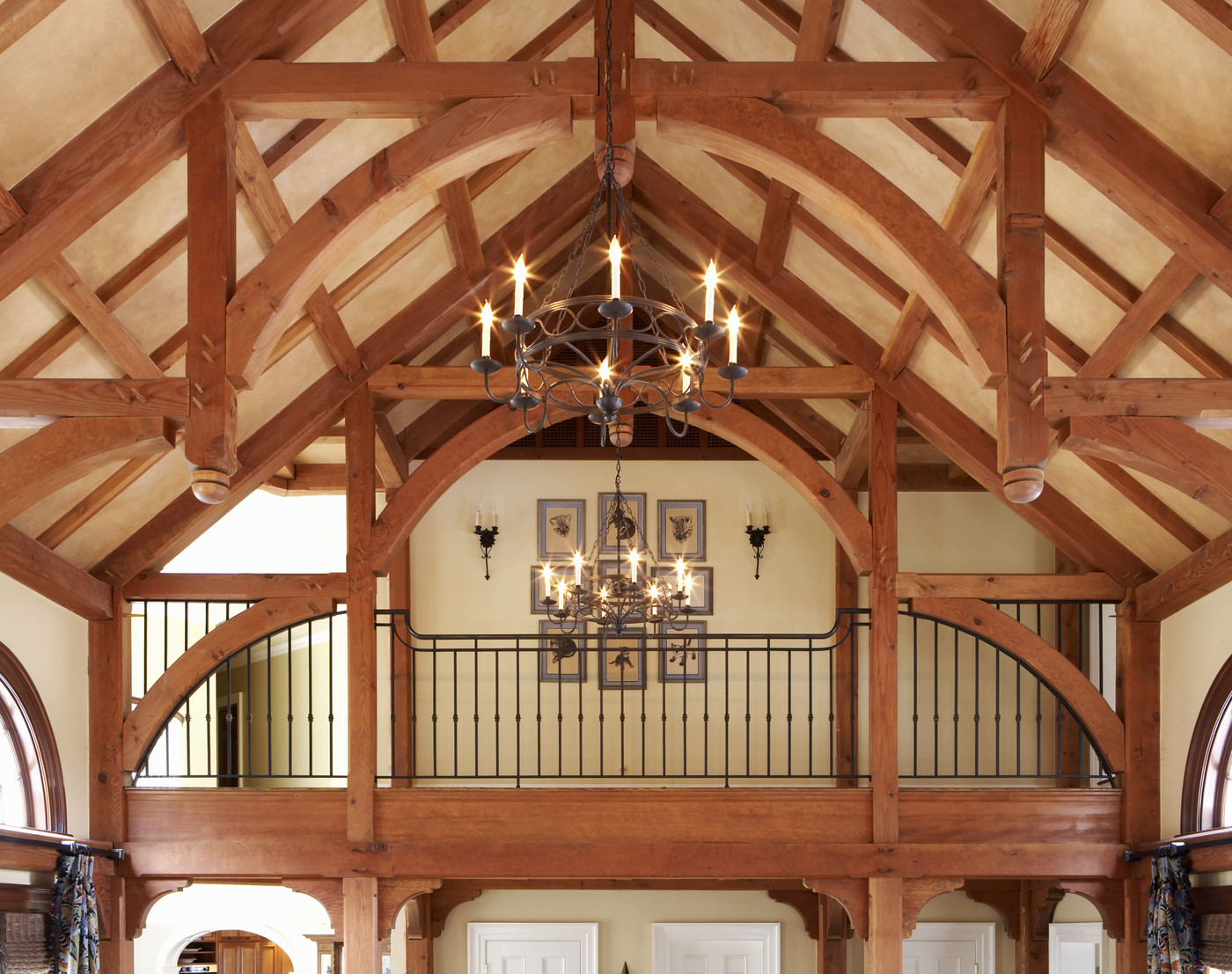 Roof Truss Photos Design Ideas Remodel And Decor Lonny