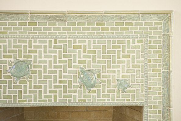 Fireplace Wall Tiles Photos 3 Of 11 Lonny