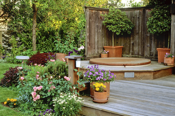 Garden Jacuzzi Design | Native Garden Design