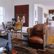 Brown Contemporary-Modern Family Room
